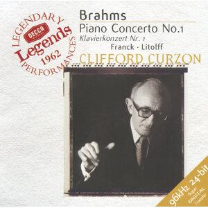 Brahms: Piano Concerto No.1 / Franck: Variations Symphoniques /  Litolff: Scherzo