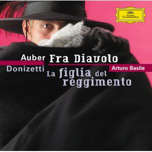 Auber: Fra Diavolo / Donizetti: La figlia del reggimento - 2 CD's