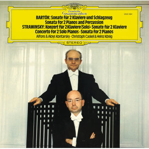 Bartók: Sonata for 2 Pianos and Percussion; Stravinsky: Concerto & Sonata for 2 Pianos