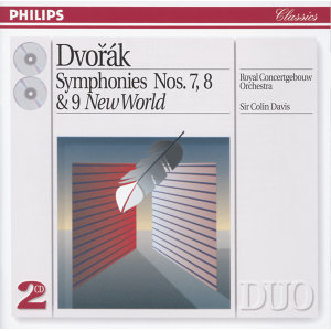 "Dvorák: Symphonies Nos. 7, 8 & 9 ""New World"" - 2 CDs"