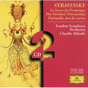 Stravinsky: Le Sacre du Printemps; The Firebird; Pétrouchka; Pulcinella; Jeu de cartes - 2 CD's