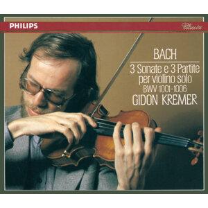 Bach, J.S.: 3 Sonatas & Partitas for Solo Violin - 2 CDs