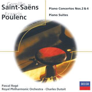 Saint-Saëns: Piano Concertos Nos. 2 & 4/Poulenc: 3 mouvements perpétuels, etc.