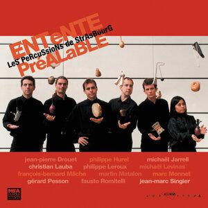 Entente prealable-12 compositeurs-Percussions de strasbourgg