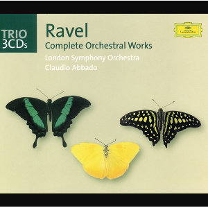 Ravel: Complete Orchestral Works - 3 CD's