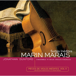 Marais-Pièces de viole Inédites vol II