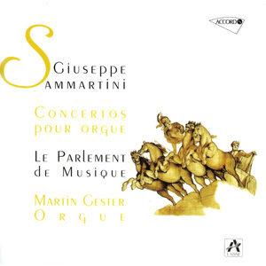 Sammartini: Concertos pour orgue