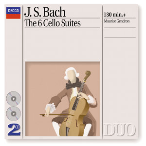 Bach, J.S.: The 6 Cello Suites - 2 CDs