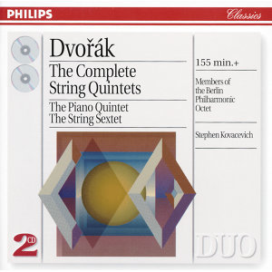 Dvorák: The Complete String Quintets - 2 CDs