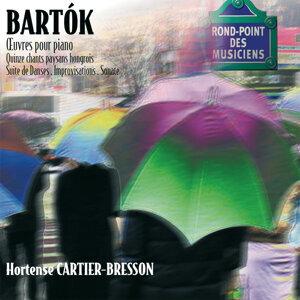 Bartok: Oeuvres pour piano-15 chants paysans-Sonate-Improvisa tions-Suite de danses