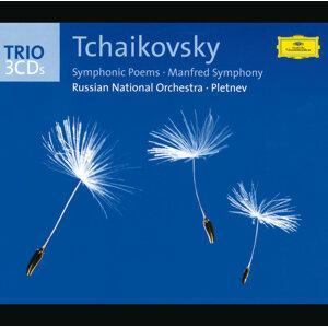 """Tchaikovsky: Symphonic Poems; """"Manfred"""" Symphony - 3 CD's"""