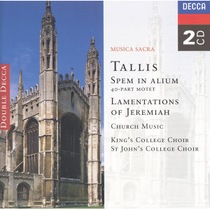 Tallis: Spem in Alium; The Lamentations of Jeremiah etc. - 2 CDs
