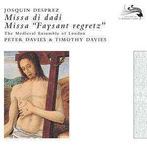 Josquin des Pres: Missa faisant regretz; Missa di dadi