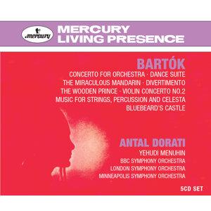 Doráti conducts Bartók - 5 CDs