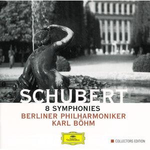 Schubert: 8 Symphonies - 4 CD's