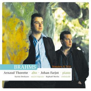 Arnaud Thorette . Brahms . Sonates et Trios