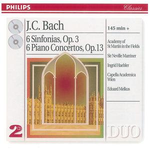 Bach, J.C.: 6 Sinfonias Op.3/6; Piano Concertos Op.13 - 2 CDs