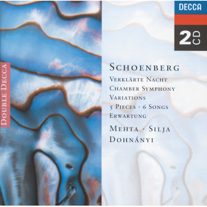 Schoenberg: 5 Pieces for Orchestra/Chamber Symphony etc. - 2 CDs
