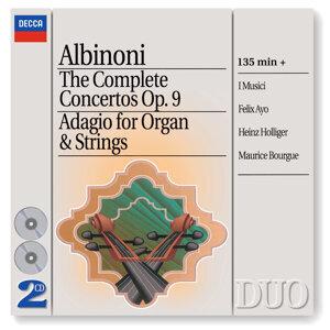Albinoni: The Complete Concertos/Adagio for Organ & Strings - 2 CDs