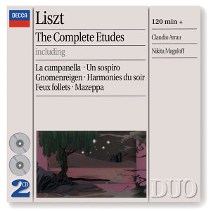 Liszt: The Complete Etudes - 2 CDs