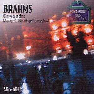 Brahms: Oeuvres pour piano-Ballades op.10-Klavierstucke op76-Intermezzi op.117
