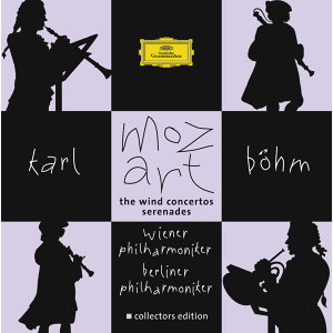 Mozart: Wind Concertos and Serenades - 7 CD's