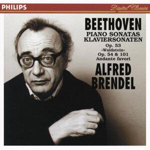 "Beethoven: Piano Sonatas Opp.53 ""Waldstein"", 54 & 101; Andante favori"