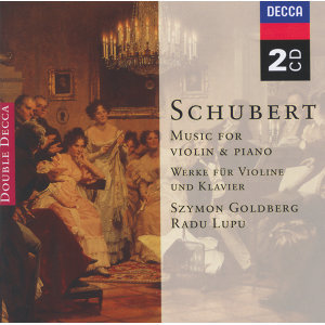 Schubert: Music for Violin & Piano; Arpeggione Sonata - 2 CDs