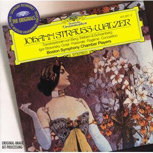 Strauss, J. II (transc.: Berg, Schoenberg, Webern): Waltzes / Stravinsky: Octet; Pastorale; Ragtime; Concertino