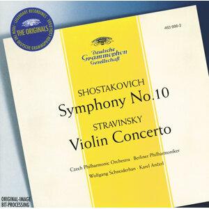 Stravinsky: Violin Concerto in D / Shostakovich: Symphony No.10, Op.93