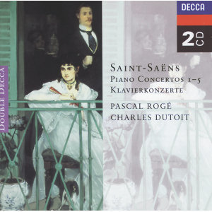 Saint-Saëns: Piano Concertos Nos. 1-5 - 2 CDs