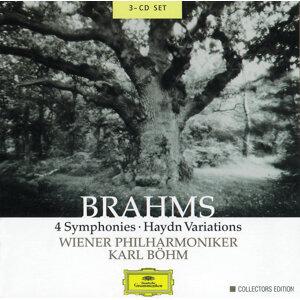 Brahms: 4 Symphonies; Haydn Variations - 3 CD's