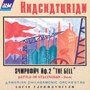 "Khachaturian: Symphony No.2 ""The Bell"" /  Battle of Stalingrad - Suite"