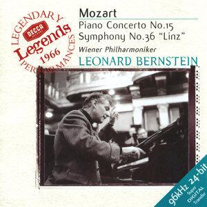 """Mozart: Piano Concerto No.15; Symphony No.36 """"Linz"""""""