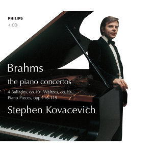 Stephen Kovacevich plays Brahms - 4 CDs
