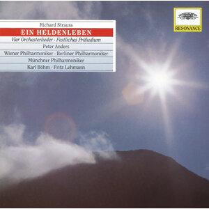Strauss, R.: Ein Heldenleben, Op. 40; Orchesterlieder, Op. 10, Op. 27, Op. 32; Festliches Präludium, Op. 61