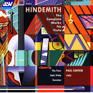 Hindemith: The Complete Works for Viola, Vol. 2: The 4 Solo Viola Sonatas