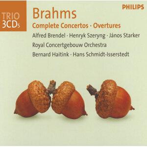 Brahms: Complete Concertos / Overtures - 3 CDs