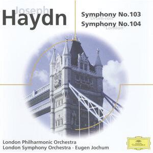 """Haydn: Symphonies Nos. 103 """"Drum Roll"""" & 104; Brahms: Haydn Variations Op. 56a"""