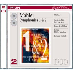 Mahler: Symphonies Nos.1 & 2 - 2 CDs