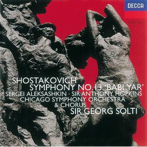 Shostakovich: Symphony No.13/Yevtushenko: Poems