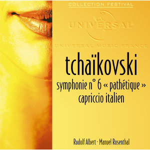 "Tchaikovski: Symphonie 6 ""Pathétique""-Capriccio italien"