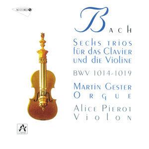 J.S. Bach: 6 Sonates Pour Violon Et Orgue