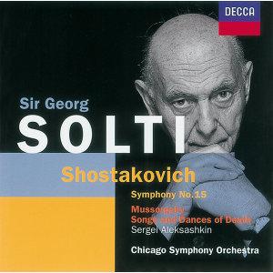 Shostakovich::Symphony No.15 /Mussorgsky: Songs & Dances of Death etc.