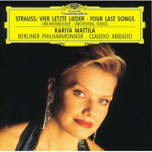 Strauss, R.: Vier letzte Lieder; Orchesterlieder