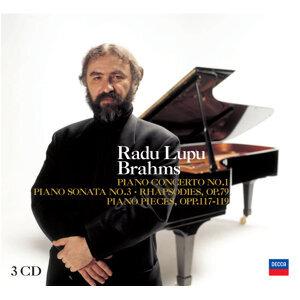 Radu Lupu plays Brahms - 3 CDs