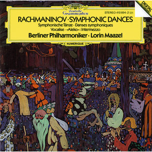 "Rachmaninoff: Symphonic Dances, Op.45; Intermezzo ""Aleko""; Vocalise, Op.34"