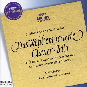 J.S. Bach: The Well-tempered Clavier, Book I - 2 CDs