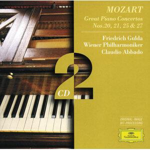 Mozart, W.A.: Piano Concertos Nos.20, 21, 25 & 27 - 2 CD's