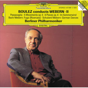 Boulez conducts Webern II